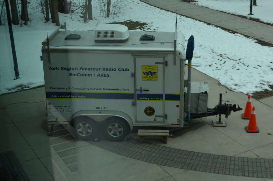 York Region Amateur Radio Club mobile communications center